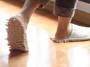 日本进口susu清扫拖鞋 拖地鞋 清扫鞋,