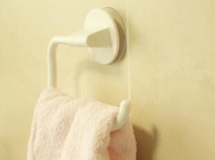 日本进口LEC带辅助板毛巾杆 吸盘置物架 挂架 荷重3KG 收纳架,浴室储物,