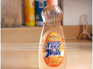 日本餐具清洗剂 蔬果清净剂 洗洁精 餐具洗涤剂 清洁剂 橙味,