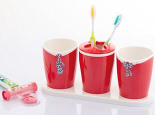 特价包邮 anya安雅 牙刷架 创意 漱口杯 套装 情侣 送挤牙膏器,
