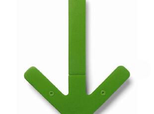 瑞典Design House 箭头衣架/衣帽架/挂钩 绿色 一只 D1675-6000,