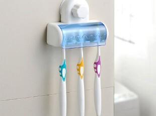 湾家♥五位魔力 强力吸盘牙刷架 牙刷放置架 牙刷置物架 牙刷挂,