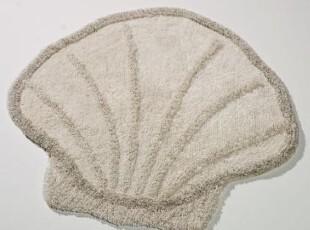 【纽约下城公园】 海洋主题系列 贝壳浴垫,浴室垫,