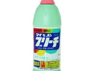 日本进口屋久美厨房专用洗净漂白剂 漂白水粉 液除菌杀菌,