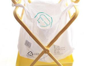 便利环保实用垃圾架 可折叠垃圾桶架 杂物收纳桶支架 配防漏底盘,浴室储物,