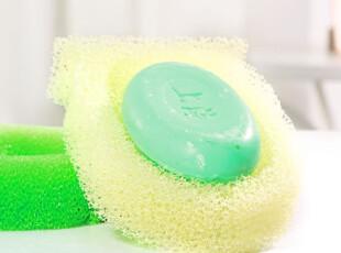 新款 多功能丝瓜巾肥皂盒 搓澡巾沐浴新品 家居实用297549,