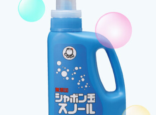 日本原装进口无添加 泡泡玉雪花洗衣液 真丝羊绒高档衣物洗涤,