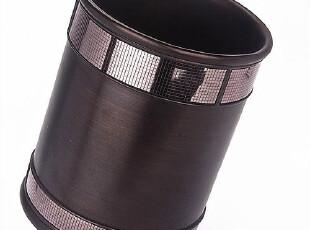 美国原单 E.C. 高质奢华树脂垃圾桶 杂物桶/储物桶 字纸篓,浴室储物,