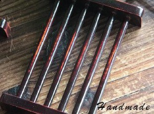 【古造工坊】独家设计小算盘竹木皂架 手工皂必备 皂托 皂盒,