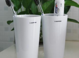 爱尚品 日式 陶瓷 情侣漱口杯2件套 对杯 刷牙杯洗漱用品牙刷杯,