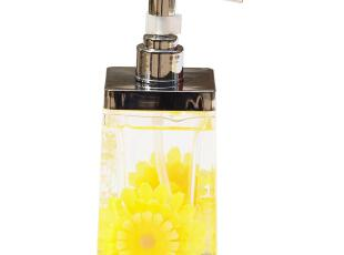 雅居坊 乳液瓶 洗手液瓶压嘴瓶皂液器乳液器 宾馆酒店用 淡雅雏菊,