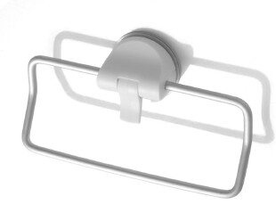 日本进口 LEC 铝合金毛巾架 真空押杆强力吸盘 毛巾挂 荷重3KG,毛巾架,