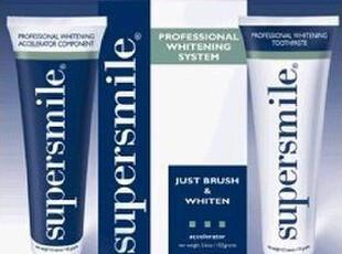 美国代购含关税 Supersmile 专业美白牙膏套装 两件套,