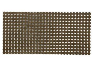 德国Kleine-Wolke  咖色圆点透明防滑垫36X80厘米 1304384301009,浴室垫,