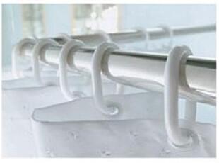 塑料浴帘环,