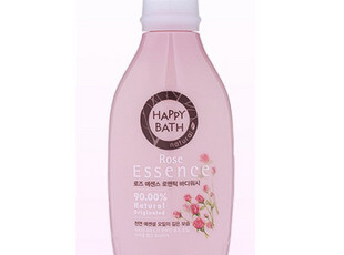 韩国爱茉莉 沐浴露 沐浴乳 玫瑰沐浴露 HAPPY BATH 500ML 226717,