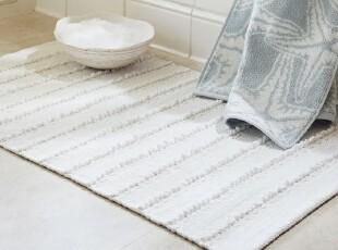 时尚家居浴垫地垫  纯净舒适条纹浴室地垫/浴室浴垫/卫生间浴垫,浴室垫,