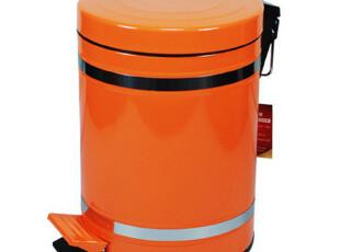出口欧美 桶身镶边时尚垃圾桶 脚踏垃圾桶 包邮创意垃圾桶,