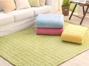【韩国家居】X813 舒适极细绒绒彩色地垫爬行垫游戏垫 四色选,浴室垫,