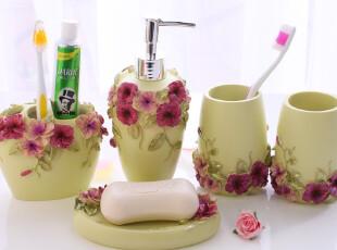 浪漫庄园卫浴五件套新居新婚结婚礼物情侣洗漱用品欧式浴室,