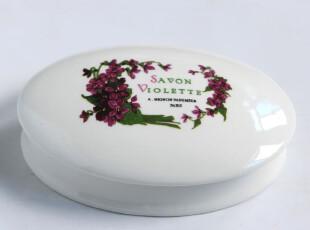欧式陶瓷卫浴皂盒 家居摆设 浴室系列,