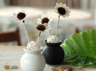 清心一夏 法式清新舒雅居室香薰 自然挥发房间香 2套太阳花送精油,
