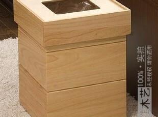 域雅木艺|天然实木高档日式垃圾桶【品味+时尚的完美组合】12L升,