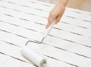 出口日本LEC 滚筒刷 除尘器 头发粘刷 地毯手柄清洁拖把 粘毛滚,