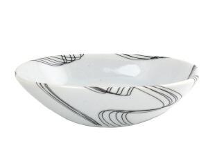 瑞士spirella 黑色曲线冰裂纹浴室陶瓷香皂盒(新品),