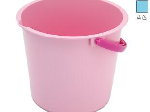 日本进口可收纳毛巾带水管夹有提手便利水桶980691,浴室储物,