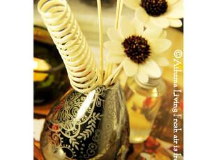电镀描花陶瓷瓶无火香薰80ml。太阳花藤条挥发香薰香料!0.43,