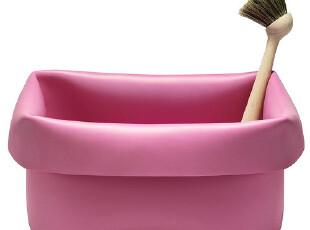 丹麦Normann 粉色清洗槽 多功能容器 冰桶 花盆,
