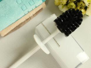 MigaMiga 钻石型 马桶刷/厕所刷/洁厕刷/卫生刷/坐便刷,马桶配饰,