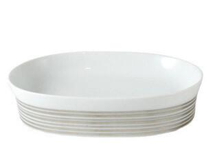 欧洲卫浴spirella正品 卫浴套装 银条纹 欧式 陶瓷 香皂盒 杂物盒,