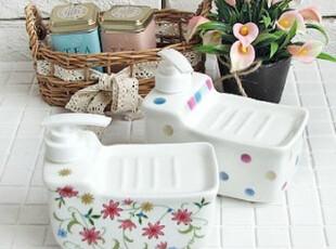 韩国进口家居⊕浴室实用洗手液瓶皂盒一体瓶 - LS026,