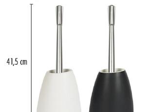 包邮【瑞士品牌SPIRELLA】石头ETNA系列 简约时尚多色陶瓷 马桶刷,马桶配饰,