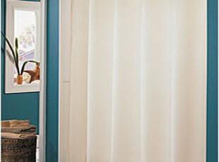 世尧家居--180X180CM 100%涤纶浴帘 NATURE系列 米色尺寸可定制,