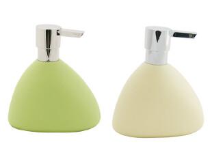 时尚卫浴丝普瑞 SPIRELLA 创意哑面合成树脂石头乳液瓶[2色],