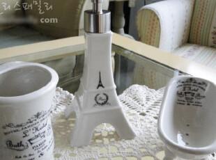 『韩国网站代购』我爱艾菲尔铁塔 浪漫伦敦卫浴三件套,