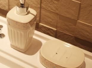 古典陶瓷卫浴五件套装用品 浴室用品套件套装 卫浴用品结婚,
