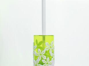 【折上折】TAYOHYA多样屋专柜正品/夏威夷风情马桶刷/绿/鹅黄,马桶配饰,