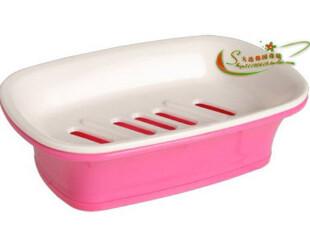 韩国 进口正品 粉色彼得兔品牌 有底 香皂盒 肥皂盒,