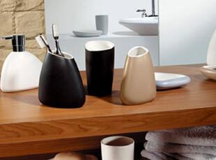 瑞士Spirella|ETNA新婚欧式浴室用品套件陶瓷卫浴五件套装|包邮,