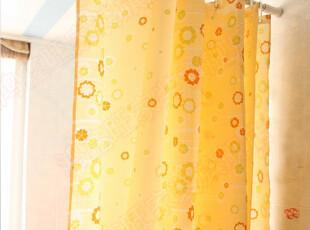 出口瑞士橘黄花 防水/防霉/加厚/环保 涤纶 浴帘 多尺寸,