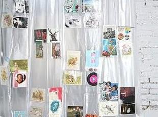 【纽约下城公园】 DIY画片浴帘,