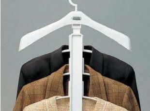 韩国进口BTLIFE 衣架 挂衣架 衬衫衣架 肩部可伸缩衣架三角衣架4P,