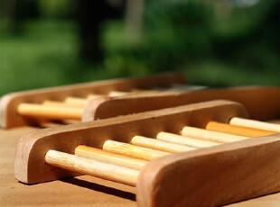 手工皂伴侣 天然原木质手工皂架 环保防积水 简约迷你小皂托/皂盒,