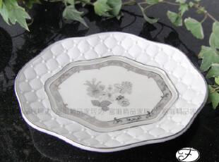出口★陶瓷皂盘(银色)/皂盒/果盘/装饰盘~维纳斯★新婚居乔迁礼物,