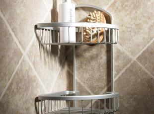 晏记卫浴 转角架 浴室置物架 卫生间收纳架 三角篮 洗手间置物架,浴室储物,