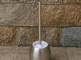 外贸创意 金属不锈钢 马桶刷厕所刷 座便器刷 洁缸卫生间刷子加厚,马桶配饰,